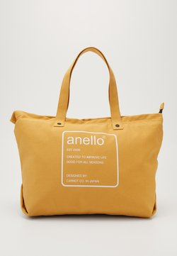 anello - AUBREY TOTE BAG  - Shoppingväska - mustard