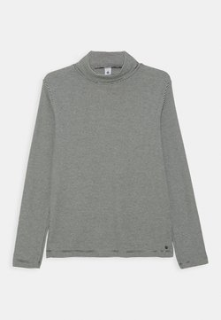 Petit Bateau - LOOPING - T-shirt à manches longues - smoking/marshmallow
