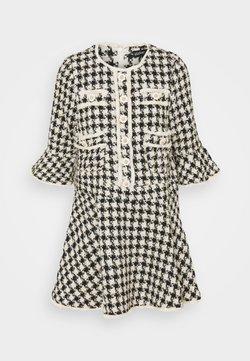 Sister Jane - MARBLE BUD MINI DRESS - Vestido camisero - black/white