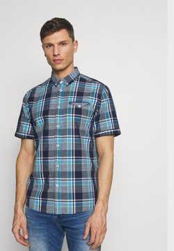 TOM TAILOR - RAY COLOURFUL CHECK PACKAGE - Hemd - navy blue