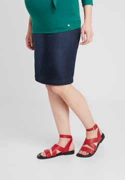 LOVE2WAIT - SKIRT - Kokerrok - stone wash