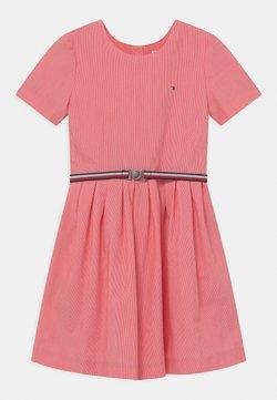 Tommy Hilfiger - BOX PLEAT DRESS - Blusenkleid - daring scarlet