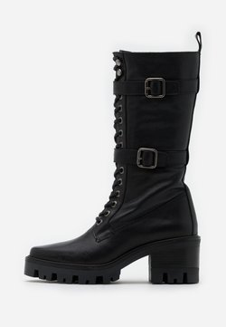 Alpe - AMELIE - Platform boots - black