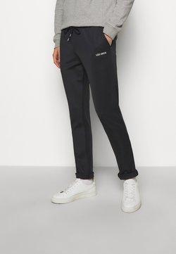 Les Deux - BALLIER TRACK PANTS - Jogginghose - dark navy/white