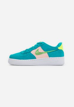 Nike Sportswear - AIR FORCE LV8 FRESH AIR - Sneaker low - oracle aqua/ghost green/washed coral/white