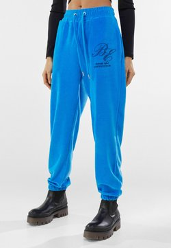 Bershka - Jogginghose - blue