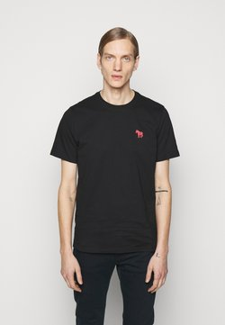 PS Paul Smith - SCRIBBLE ZEBRA - T-Shirt basic - black