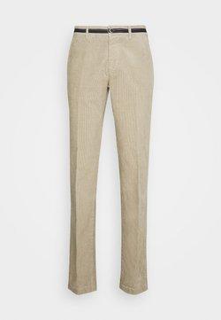 Mason's - TORINO OXFORD - Pantaloni - light beige grey