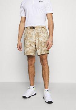 Nike Performance - SLAM SHORT - kurze Sporthose - parachute beige/white