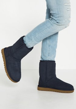 UGG - CLASSIC SHORT - Stiefelette - navy