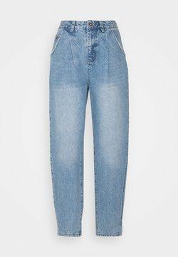 Cotton On - SLOUCH MOM - Jean boyfriend - jetty blue pleat