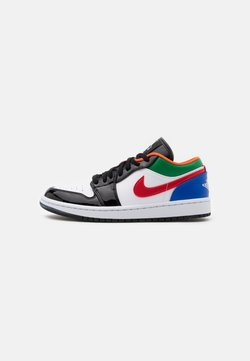 Jordan - AIR 1 SE - Sneakers - white/hyper royal/university red/pine green