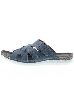 Vista - Pantolette flach - blau