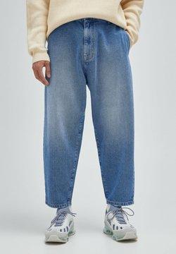PULL&BEAR - Jeans Relaxed Fit - mottled dark blue