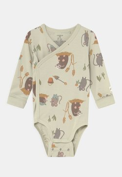 Lindex - WRAP MOLE AND FRIENDS UNISEX - Body - light green