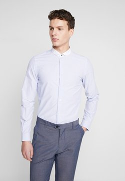 Shelby & Sons - PORTLAND SHIRT - Camicia elegante - white & blue
