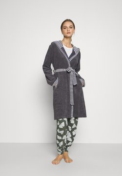 Vossen - JUNO - Dressing gown - graphit