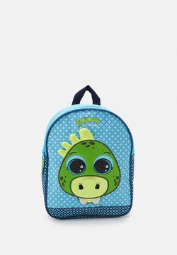 Kidzroom - BACKPACK LULUPOP & THE CUTIEPIES ANIMALS DINO UNISEX - Ryggsäck - blue/green