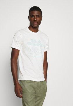 Levi's® - GRAPHIC CREWNECK TEE UNISEX - T-shirt z nadrukiem - neutrals