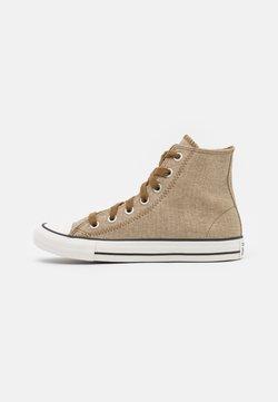Converse - CHUCK TAYLOR ALL STAR UNISEX - Sneakersy wysokie - khaki/egret/terra taupe