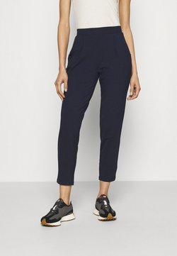 Marks & Spencer London - PLAIN TAP - Spodnie materiałowe - dark blue