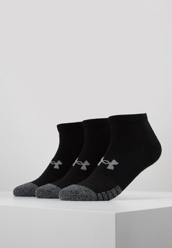 Under Armour - HEATGEAR LOCUT 3 PACK - Sportsocken - black/steel