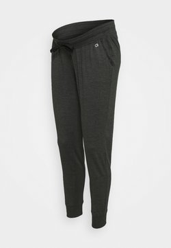 GAP Maternity - UNDERBELLY MIX - Jogginghose - true black