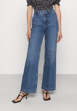 The Kooples - Jeans a zampa - blue denim