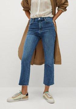 Mango - SIENNA - Flared Jeans - bleu foncé