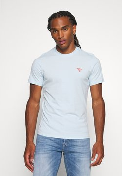 Barbour Beacon - BEACON SMALL LOGO TEE - T-shirt basic - pale sky