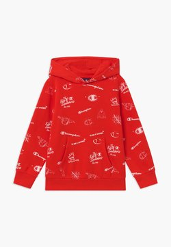Champion - LEGACY AMERICAN CLASSICS HOODED - Bluza z kapturem - red