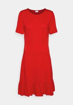 Vila - VISUS DRESS - Vestido ligero - flame scarlet