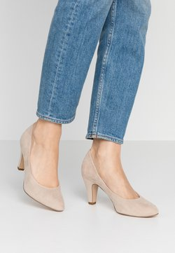 Tamaris - COURT SHOE - Pumps - dune