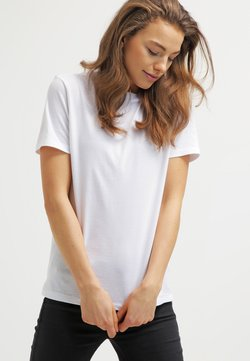 Selected Femme - PERFECT - T-Shirt basic - bright white
