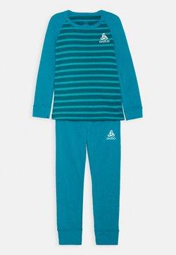 ODLO - ACTIVE WARM ECO KIDS SET UNISEX - Unterhemd/-shirt - tumultuous sea/submerged
