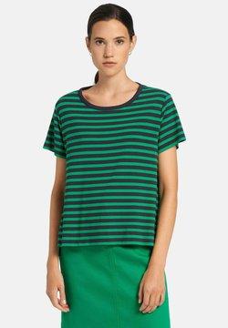 DAY.LIKE - T-Shirt print - marine/grün