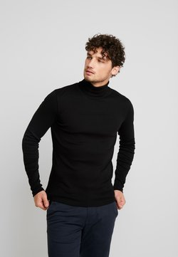 Marc O'Polo - LONGSLEEVE TURTLENECK - Langarmshirt - black