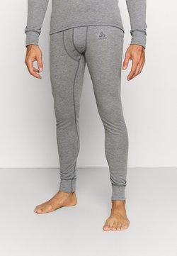 ODLO - ACTIVE WARM ECO BOTTOM LONG - Pitkät alushousut - odlo steel grey melange