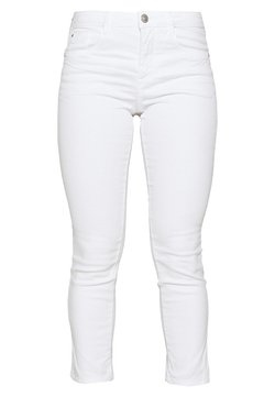 TOM TAILOR - TOM TAILOR ALEXA CROPPED - Slim fit jeans - white