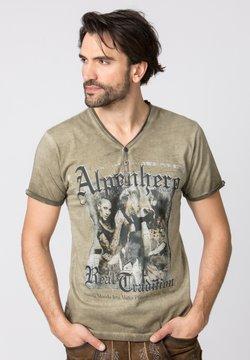 Stockerpoint - ALPENHERO - T-Shirt print - sand