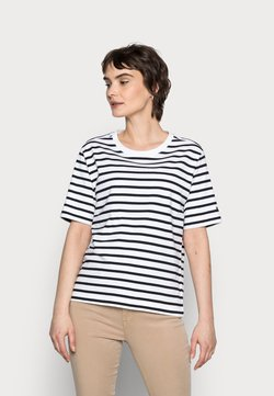 Tommy Hilfiger - COOL RELAXED TOP - T-Shirt print - blue