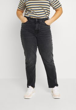 Even&Odd Curvy - Jeans slim fit - black denim