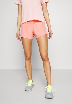 ASICS - ROAD SHORT - Pantalón corto de deporte - guava