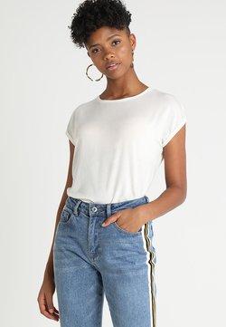 Vero Moda - VMAVA PLAIN - T-Shirt basic - snow white