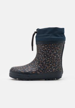 Wheat - THERMO BOOTS UNISEX - Bottes en caoutchouc - greyblue