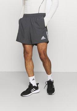 adidas Performance - OWN THE RUN - Krótkie spodenki sportowe - grey