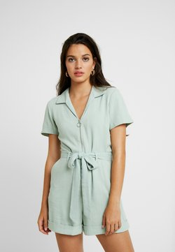 Miss Selfridge - ZIP THROUGH UTILITY - Combinaison - mint