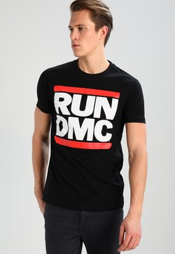 Mister Tee - RUN DMC - T-shirt con stampa - black