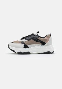 TOM TAILOR DENIM - Sneakers laag - offwhite/mud