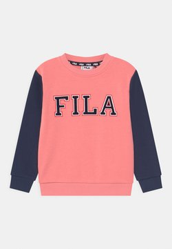 Fila - THEA CREW NECK - Sweater - conch shell/black iris